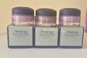 Avon Anew Platinum Define & Contour Day Cream SPF25 Travel Size x 3 15ml = 45ml