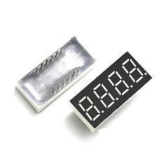 10 un. 0.36 pulgadas pantalla LED de 4 dígitos 7 segmento Cátodo Común Rojo Seg