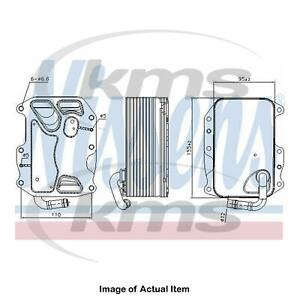 New Genuine NISSENS Engine Oil Cooler 90852 Top Quality