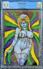 Lady Death Icon #1 Naughty Mardi Gras B Edition Ltd /100 CGC 9.9