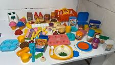 LITTLE TIKES Fisher Price  Pretend Kitchen Plastic Play Food LOT