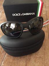 Dolce & Gabbana Unisex Black Sunglasses with Original Case. DG6066. New.