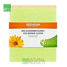 Sodasan Organic Eco Sponge Cloths pack of 2