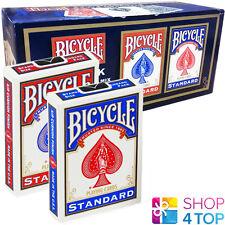 12 DECKS BICYCLE RIDER BACK STANDARD INDEX PLAYING CARDS SEALED BOX CASE USPCC