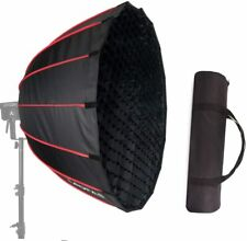 LAOFAS 35inch 90cm Deep Parabolic Softbox for Godox SL-60W Bowens Mount Lights
