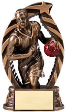 Basketball Trophy Running Stars Series - Male - Rst603 - Free Engraving