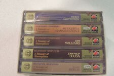 READER'S DIGEST~Treasure Chest Of Classical Favorites~Sealed [5] Cassette Tapes