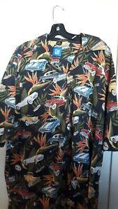 GM..General Motors Official Hawaiian shirt..Vette..Camaro..BIG PERSON SIZE XXXL!
