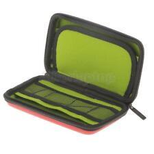 Tragbar Aufbewahrungsetui Kabel USB-Stick SD-Karte Organizer Tasche -Rot