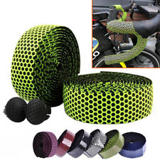 Road Bicycle Bike Cork Handlebar Wrap Bar Tape Bandage Belt Grips Silicone + EVA