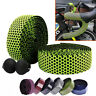 Road Bicycle Bike Cork Handlebar Wrap Bar Tape Bandage Belt Grips Silicone + EVA