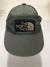 Vintage North Face Army Color Khaki Green 1980's Fitted Asian Lettering Tag Rare