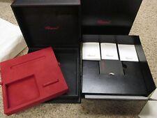 Chopard 94200-0137 Pen Purse & Cuff-link Gift Box Set Various Booklets & Folder
