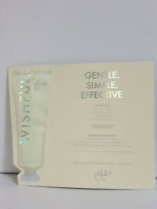 Huda Beauty Wishful Yo Glow Enzyme Face Scrub 3ml Sample Sachet New And Sealed