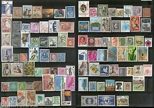 Worldwide 100 Different Stamps from 100 Different Countries & State Small Large