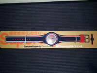 Superdry Unisex Urban Navy, Red and White Silicone Watch