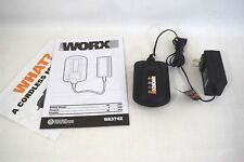 NEW! Worx WA3742 20V 3-5 Hour Max Lithium Battery Charger for WA3575 SHIPS TODAY