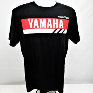 Troy Lee Designs Men's TLD Yamaha Racing RS1 Tee Men's Sz Large Black T-Shirt