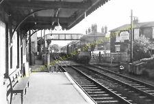 Saxmundham Railway Station Photo. Wickham Market to Darsham and Aldeburgh. (22)