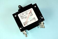 Carling Switch Circuit Breaker 5A 250v, 3 Poles,  CA3-80-22-450-121-E Triple