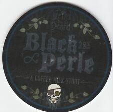 WEIRD BEARD BREW CO (LONDON) - BLACK PERLE COFFEE MILK STOUT -  KEG CLIP FRONT