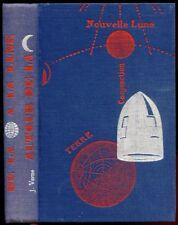 JULES VERNE: DE LA TERRE à LA LUNE/ AUTOUR DE LA LUNE. 1955 EX N°