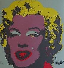 Andy Warhol Marilyn Monroe Lithograph Signed and Numbered With CMOA
