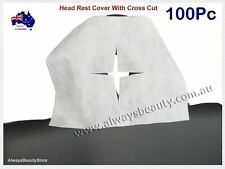 Disposable Non Woven Face Rest Cradle Covers With Cross Cut  For Massage new