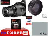 OPTURA HD® DEDICATED 2X TELEPHOTO ZOOM LENS FOR CANON EOS REBEL SL1 SL2 SL3