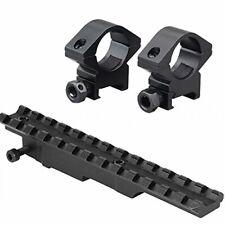 Optics Mounting Kit w/ Mount Rail & Rings for Mauser Yugo 24/47 & Other Rifles