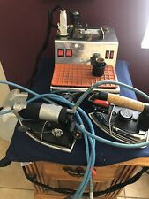 Hi- Steam Svp-24 Commercial Mini Boiler With 2 Steam Irons And Accessories