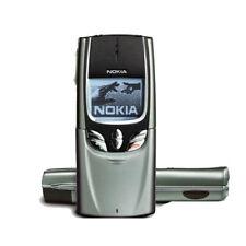 Nokia 8850 aperta originale slide cellulare 2g gsm 900 / 1800 java d'argento