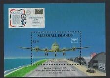 MARSHALL ISLANDS AIRCRAFT MINIATURE SHEET UNMOUNTED MINT, MNH