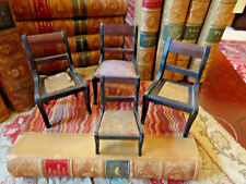 ANT CHAIRS -CANE & UPHOLSTERED SEATS-INCL CHILD'S CHAIR 4 PCES IN ALL FACTORY MA