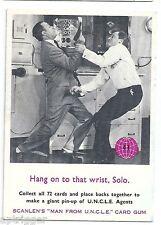 "1960 's MAN From U.N.C.L.E. (41) Hang on to that wrist, Solo "" """