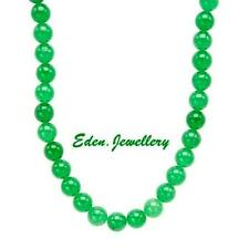 Simply Beautiful Necklace with 299.50ctw Genuine AVENTURINE 925 Sterling Silver