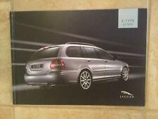 Jaguar X-Type Estate 2005 UK Specification Brochure Sport Premium Classic SE S