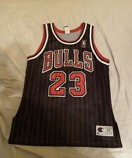 1996-97 Champion Size 44 Chicago Bulls Michael Jordan Authentic Jersey