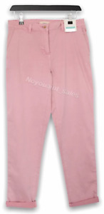 Womens Joules Hesford Chinos Trousers Pink Size UK 18 BNWT NEW