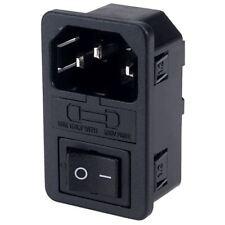Inalways fondue et Commuté IEC Inlet Socket Plug Connecteur 1.2 mm