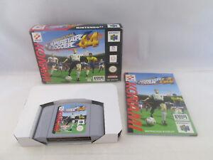 Nintendo 64 N64 - International Superstar Soccer 64