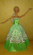 Prinzessin Ball Abend Braut Kleid für Barbie Steffi Mode Puppe Hochzeitskleid 34