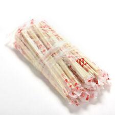 40 Pairs Disposable Bamboo Wooden Chopsticks Hashi Individually WrappedITBU