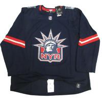 New York Rangers Reverse Retro Hockey NHL Jersey Mens - Free shipping
