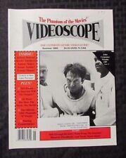 1995 VIDEOSCOPE Movie Video Magazine #15 FVF John Carpenter