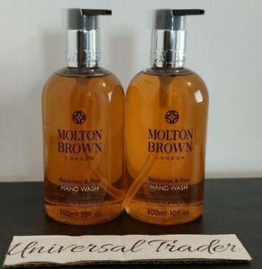 Molton Brown Rockrose & Pine Hand Wash 300ml x 2 (600ml) Duo