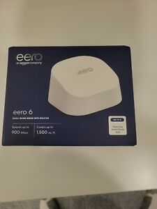 eero 6 AX1800 Dual-Band Mesh Wi-Fi 6 Router (1-pack)