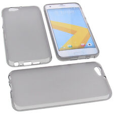 Funda para HTC One A9s Funda Protectora de Móvil TPU Goma Funda Gris