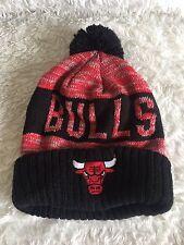 NEW NBA Chicago Bulls MITCHELL&NESS Beanie