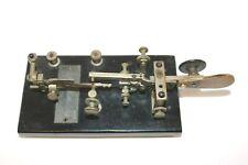 1920 VIBROPLEX Late Model X BUG TELEGRAPH KEY - Super RARE !